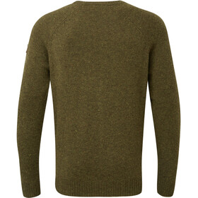 Sherpa Kangtega Suéter de cuello redondo Hombre, Oliva